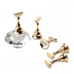 Μαγνητική βάση στήριξης για μοτίβα και διακοσμήσεις νυχιών διαμάντι