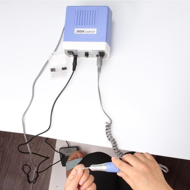 Επαγγελματικός τροχός νυχιών manicure - pedicure 35 Watt 30.000 στροφές  JSDA jd700 μώβ - JD700 Nail 0b5028f48d6